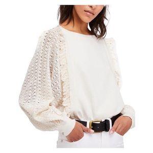 FREE PEOPLE • faff and fringe sweater